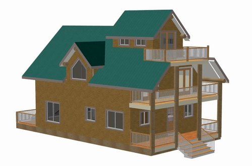 A House Plan With Good Blueprint Monitor Barn Plans