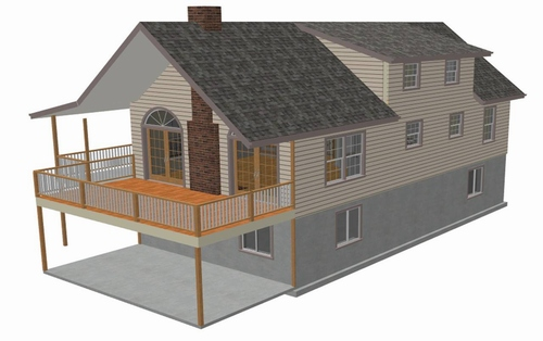 Blueprints For House Plans Monitor Barn Plans